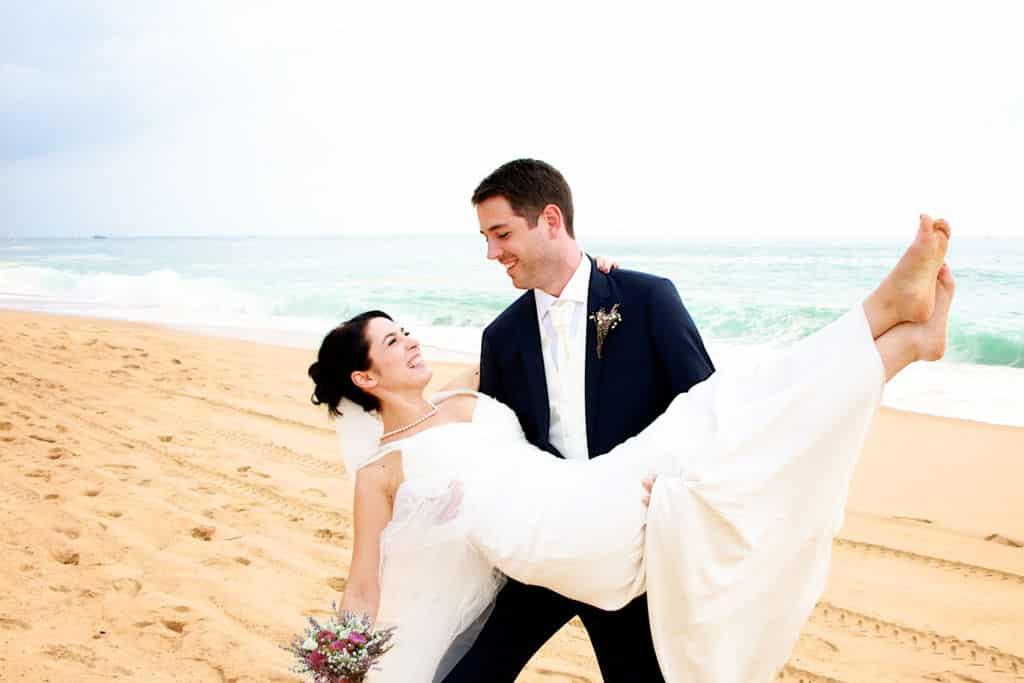 mariage hossegor plage
